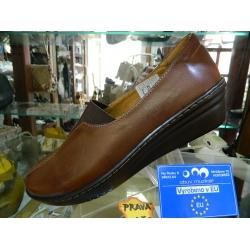 Dámské boty kožené vycházkové obuv pro zdravou chůzi