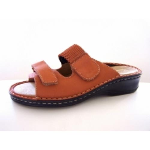 1351d760c Zdravotní obuv - boty Hanák dámské kožené pantofle 304