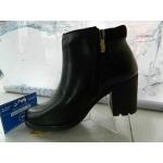 ZIMNÍ zdravotní kožené polovysoké boty
