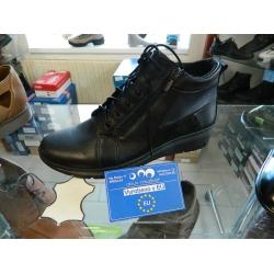 Dámské boty kožené vycházkové ZIMNÍ obuv Helios