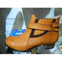 Dámské boty zimní kožené vycházkové exkluzivní obuv Bucik 2aebd400a4