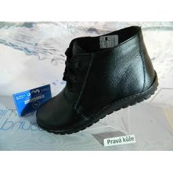 Dámské boty kožené vycházkové ZIMNÍ obuv system Hanák 56732816f3