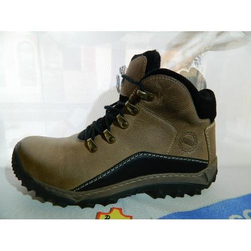 Pánské boty kožené zimní obuv RIKO 241cf8c51b