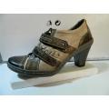 Dámské boty kožené volný čas