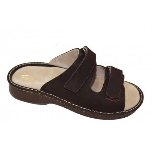 0a8d129eba Zdravotní obuv - boty Hanák 618 pánské kožené pantofle - nazouvák