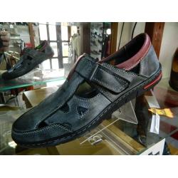 Pánské boty kožené RIKO celorok