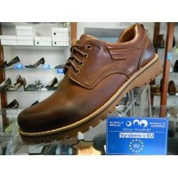 Pánské kvalitní boty kožené RIKO celorok