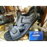 Pánské boty kožené sandály volný čas