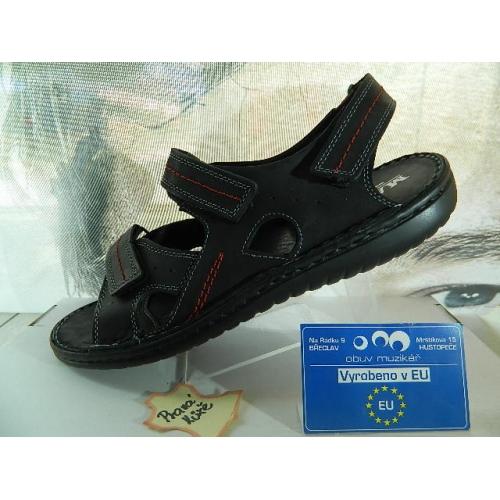 Pánské boty kožené sandál volný čas 0328beacc6