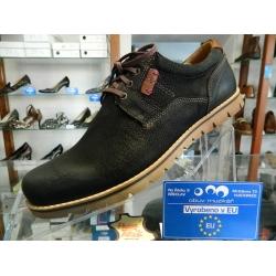 Kvalitní pánské boty kožené RIKO celorok