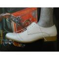 Pánské boty kožené luxusní bílé