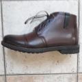 Pánské boty kožené  zimní Leader for Men